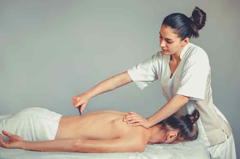 masajul cu piatra de jad