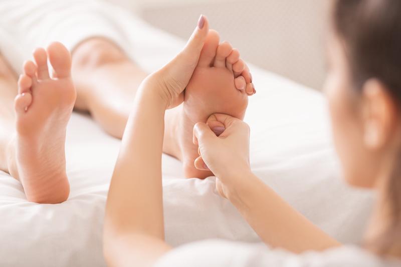 masaj pentru ingrijirea picioarelor