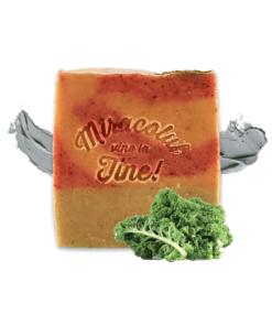 Săpun natural cu pudră kale și nămol