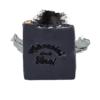 Săpun negru hidratant cu cărbune activ și nămol
